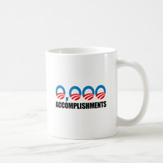0,000 ACCOMPLISHMENTS CLASSIC WHITE COFFEE MUG