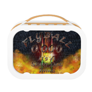 0.000 Flyball Flamz: It's A Start Dog Thing! Lunch Box