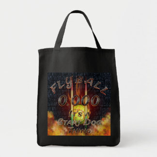 0.000 Flyball Flamz: It's A Start Dog Thing Tote Bag