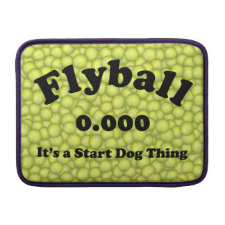 0.000, The perfect Start, It's A Start Dog Thing! MacBook Sleeve