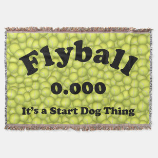 0.000, The perfect Start, It's A Start Dog Thing! Throw Blanket