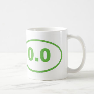 0.0 Light Green Coffee Mug