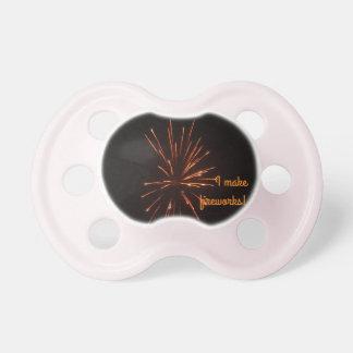 0-6 months BooginHead® Pacifier fireworks