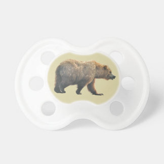 0-6 months BooginHead® Pacifier with bear