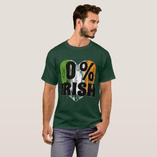 0% Irish St Patrick Day Shirt