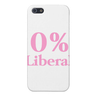 0% Liberal Pink iPhone 5 Cases