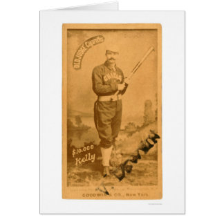 $10000 King Kelly Baseball 1887 Card