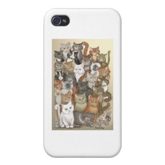 1000 cats case for iPhone 4