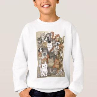 1000 cats sweatshirt
