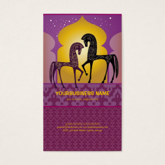 1001 Arabian Nights Business Card