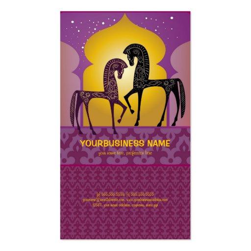 1001 Arabian Nights Business Card