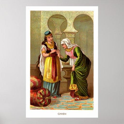 1001 Arabian Nights: Ganem Print