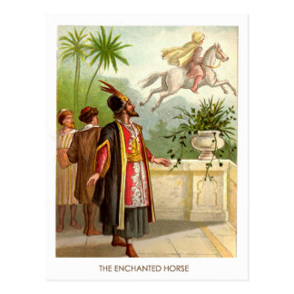 1001 Arabian Nights: The Enchanted Horse Postcard