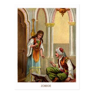 1001 Arabian Nights: Zobeide Postcards