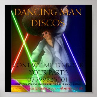 1003255_ec4e_625x1000, DANCING MAN DISCOS, CONT... Poster