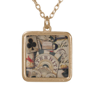 100806-tiles Cards Poker games gambling clubs Custom Necklace
