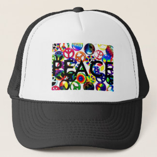 1009723, PEACE TRUCKER HAT