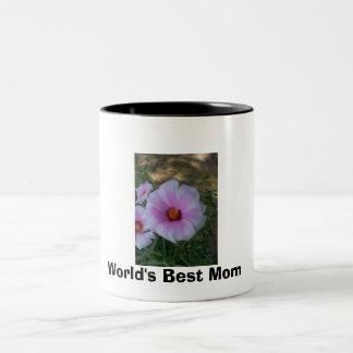 100_0002, World's Best Mom Two-Tone Mug
