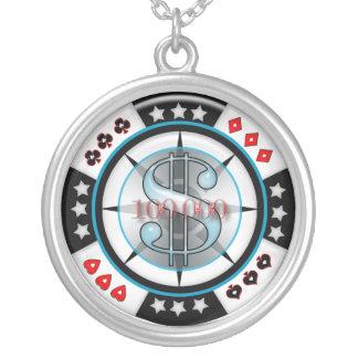 100 000 00 Gambling Poker Chip Custom Jewelry