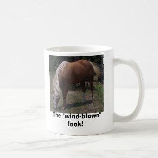 100_0550, The wind-blown look Basic White Mug