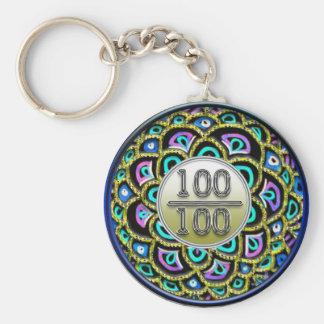 100/100 Praise Keychain