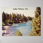 100_1068Lake Tahoe, Lake Tahoe, CA. Poster
