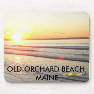 100_1135, OLD ORCHARD BEACH, MAINE MOUSE MAT