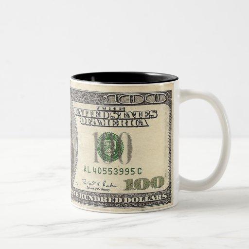 $100 15oz Coffee Cup Mugs