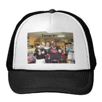 100_4719, Terror Inc. Hats