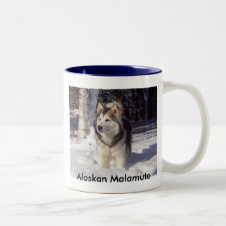 100_5815, Alaskan Malamute Two-Tone Coffee Mug
