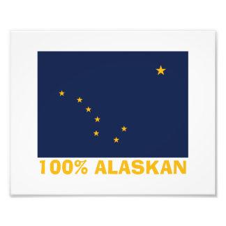 100% ALASKAN PHOTO PRINT