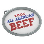 100% All Ameican Beef Buckles Belt Buckle