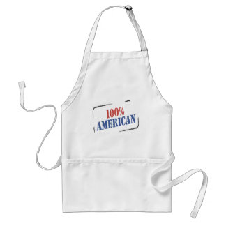 100% American T-shirts and Gifts. Adult Apron