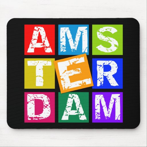 100% AMSTERDAM MOUSE PAD