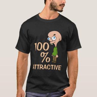 100% Attractive dark t-shirt