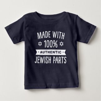 100% Authentic Jewish Parts Baby T-Shirt
