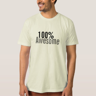100% Awesome College Humble T-Shirt