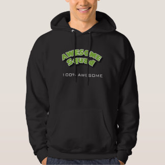 100% Awesome with GT (Dark) Hoodie