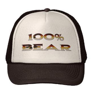 100% Bear Trucker Hat