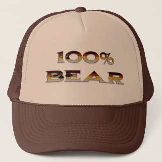 100% Bear Trucker Hat