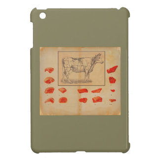 100% beef iPad mini cover