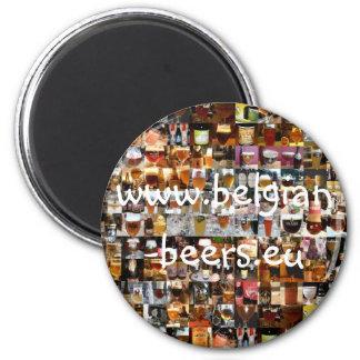 100 Belgian Beers Magnet