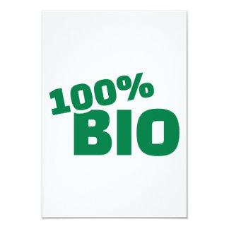 100% Bio 9 Cm X 13 Cm Invitation Card