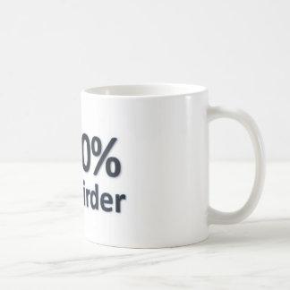 100% Birder Basic White Mug