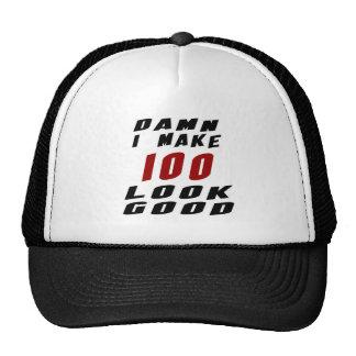 100 Birthday Designs Trucker Hat