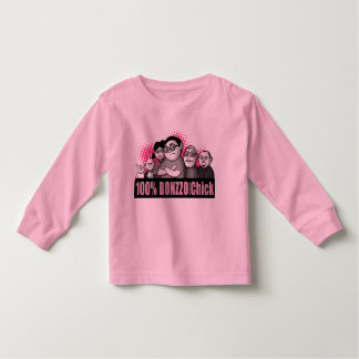 """100% BONZZO Chick"" Design by John Rivas Toddler T-Shirt"