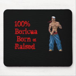 100% Boricua Mouse Pad
