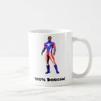 100% Boricua Mug