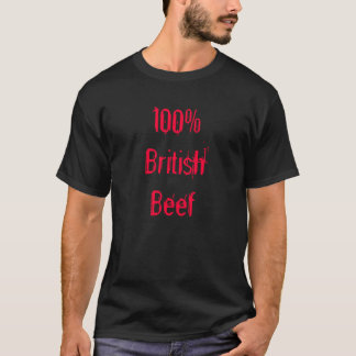 100% British Beef T-Shirt