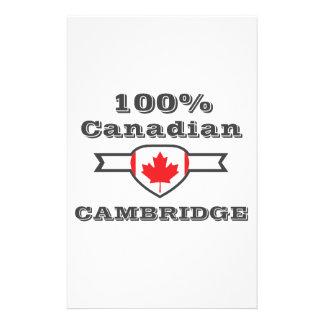 100% Cambridge Customized Stationery